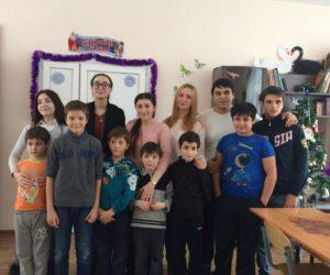 Студенты-медики посетили детский дом