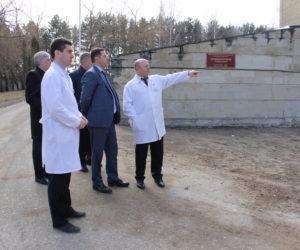 Завершается ремонт приемного отделения городской больницы
