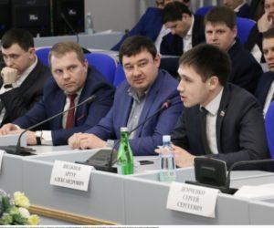 Проект главного документа российской молодежи обсуждали в Думе Ставропольского края