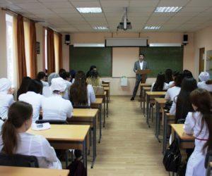 В рамках акции «Мой выбор важен» Давид Саградов встретился со студентами