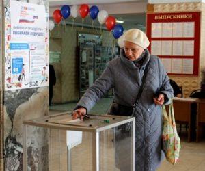 В Кисловодске голосовали за будущее страны