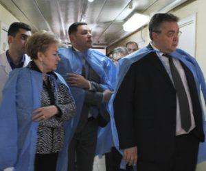 Губернатор Ставрополья осмотрел кисловодскую горбольницу