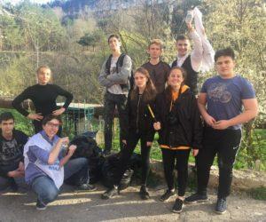 Эко-волонтеры вышли на субботник