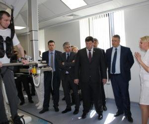 Руководители Ставропольского края осмотрели базу «Юг спорт»