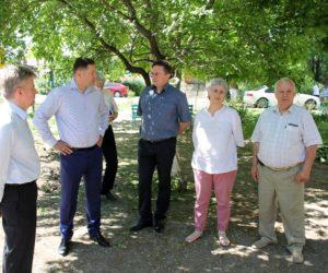 Александр Курбатов проинспектировал работу коммунальщиков