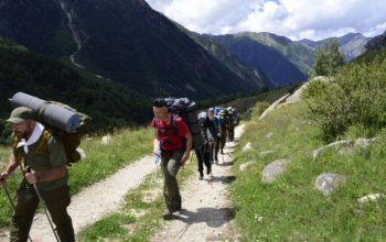 Юнармейцы покорили два горных перевала
