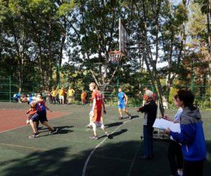 Турнир по стритболу среди школьников