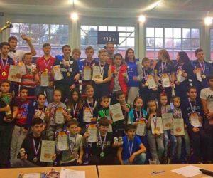25 золотых медалей  – результат кисловодчан на Открытом первенстве Ставропольского края