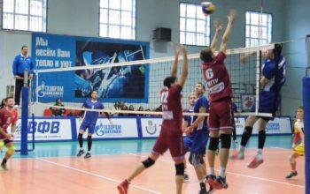 Прошли турнирные игры спортсменов российских волейбольных клубов