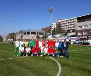 Кисловодские ветераны футбола стали вторыми на краевом первенстве