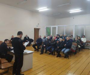 Участковые провели серию встреч с населением
