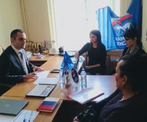 Депутат Думы СК Аркадий Торосян провел прием граждан в Кисловодске