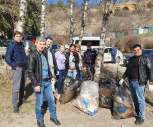 В Кисловодске провели масштабную уборку