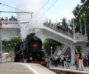 Из настоящего в прошлое: на Кавминводах дан старт регулярному железнодорожному ретродвижению