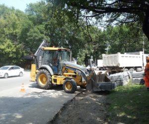 В Кисловодске приступили к ремонту еще десяти дорог