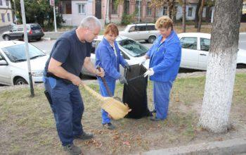 В санитарную пятницу собрали более 115 кубометров мусора и палой листвы
