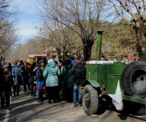 150-тиголосый хор вдохновит волонтеров на поход, посвященный Дню защитника Отечества