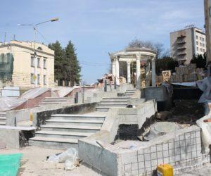 В Кисловодске реконструирую проспект Дзержинского