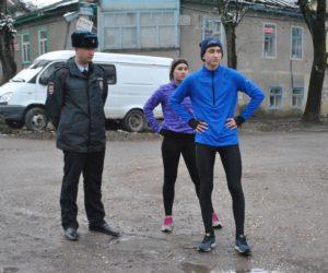 Спортсменов полицейские отправляют домой