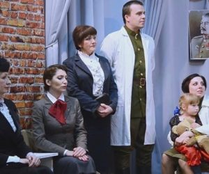 В театре «Благодать» провели онлайн-спектакль ко Дню Победы