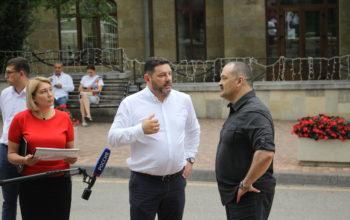 Сенатор Сергей Меликов осмотрел объекты строительства в Кисловодске