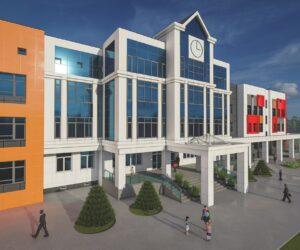 Приступили к строительству средней общеобразовательной школы на 1000 мест
