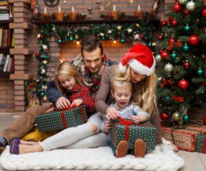 Новогодние праздники лучше провести с семьей