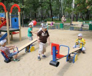 В поселке Индустрия появится самая большая детская площадка