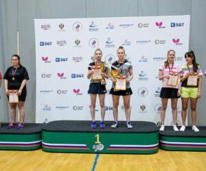 Кисловодчанка завоевала серебряную медаль на всероссийских соревнованиях по настольному теннису